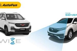 Persaingan Wuling Almaz 2021 vs Honda CR-V 2021 Makin Ketat, Kali Ini Adu Hebat WISE vs Honda SENSING