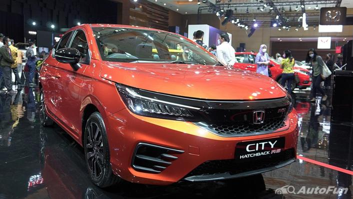 2021 Honda City Hatchback RS 1.5 CVT Exterior 002