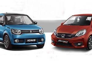 Komparasi Honda Brio RS dengan Suzuki Ignis GX, Bukan Sekedar Beda Harga