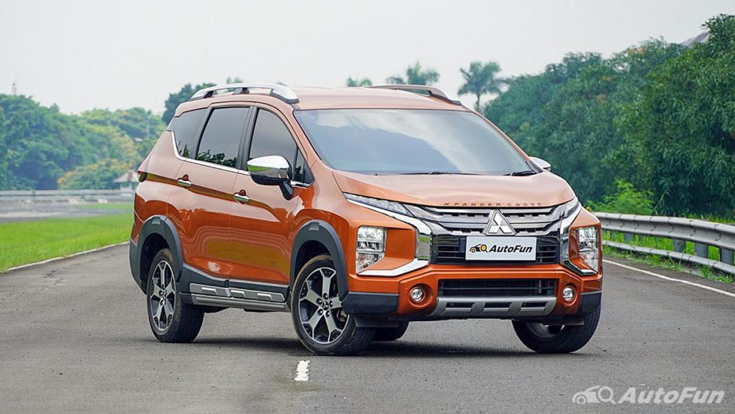 Mitsubishi Xpander Cross 2020 Premium Package AT Exterior 003