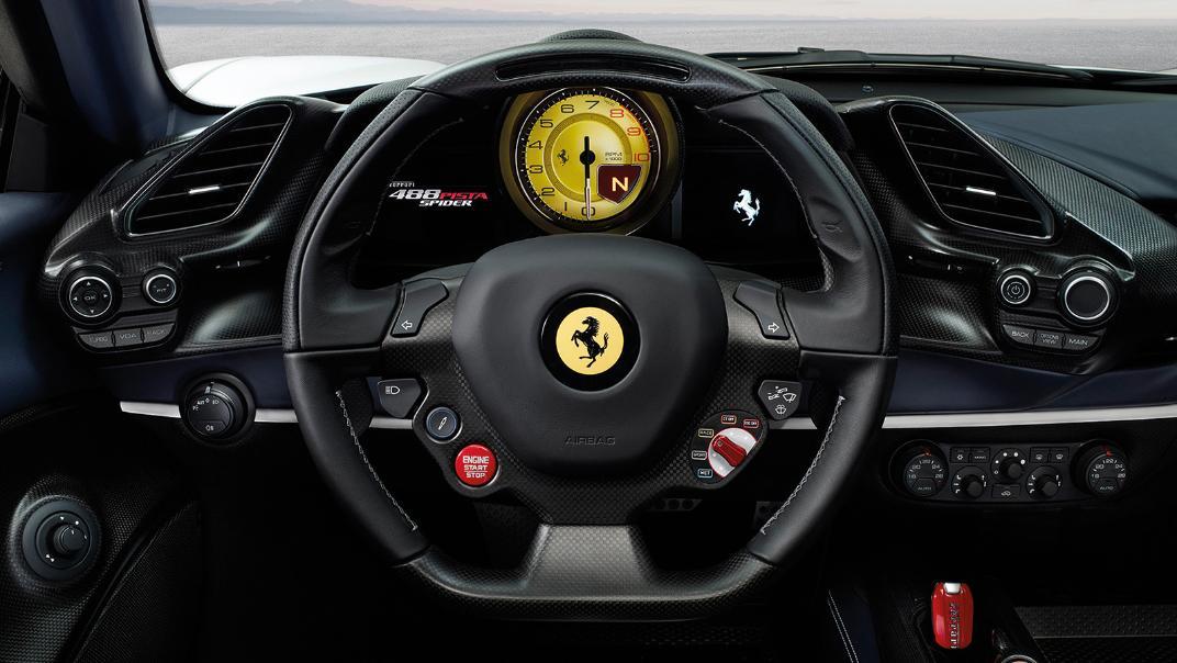 Ferrari 488 Pista Spider 2019 Interior 002