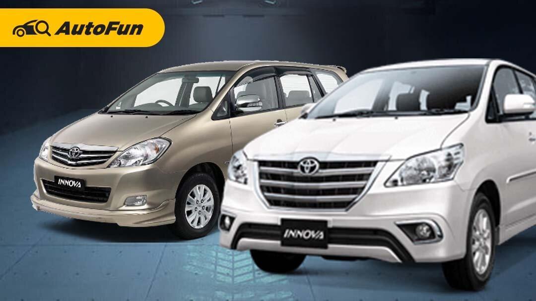 Daftar Lengkap Model dan Varian Toyota Kijang Innova Mulai 2004 Hingga 2015, Mana yang Paling Layak Dipilih? 01