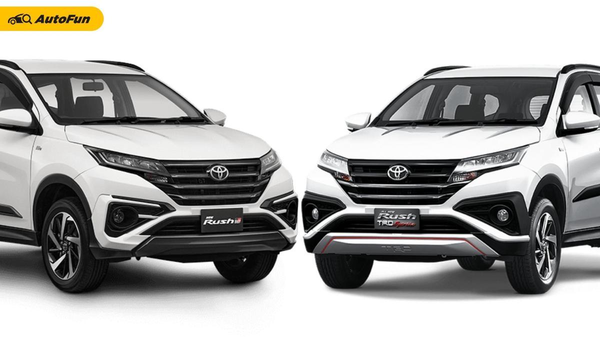 5 Perbedaan Toyota Rush GR Sport dan Rush TRD Sportivo, Lebih Suka yang Mana? 01