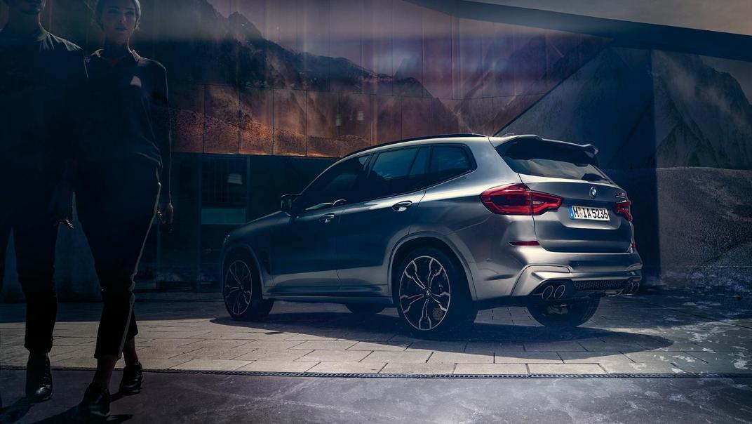BMW X3 M Exterior 007
