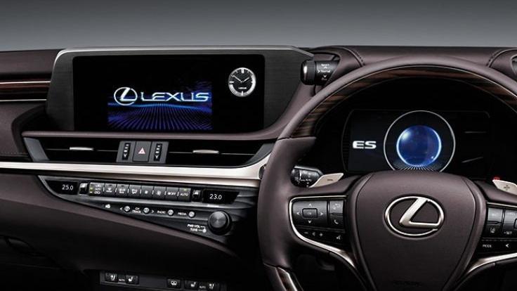 Lexus ES 2019 Interior 033