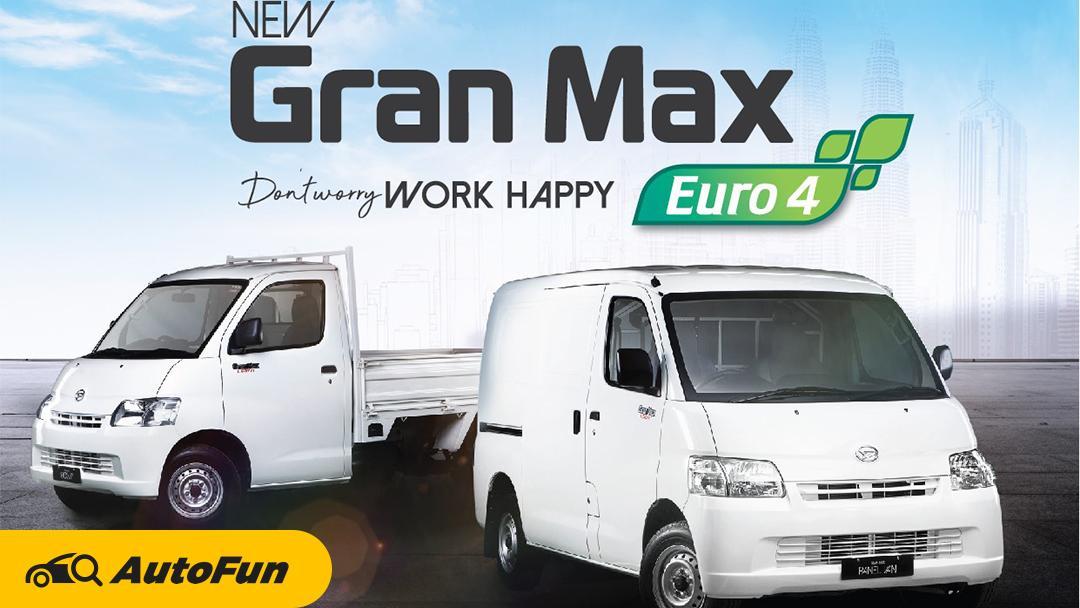 Daihatsu Gran Max di Malaysia Sudah Pakai Mesin Terbaru. Berapa Lama Indonesia Akan Menunggu? 01