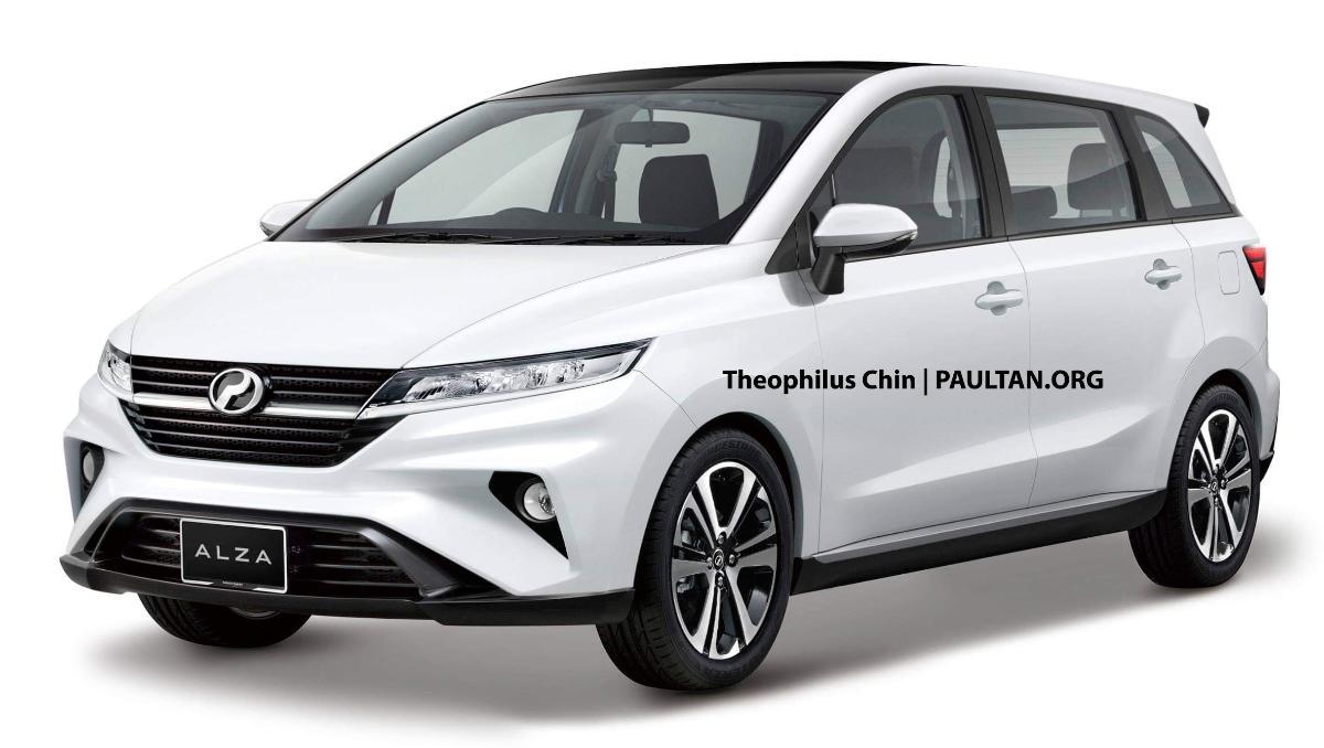 Penerus Daihatsu Xenia Sudah di Depan Mata Dengan Hadirnya Generasi Baru Perodua Alza Pada Akhir 2021? 01