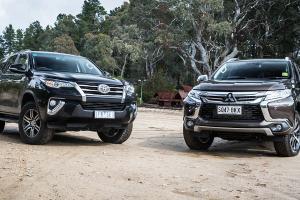 Di tengah ketatnya persaingan SUV kelas atas, pilih Mitsubishi Pajero Sport 2021 atau Toyota Fortuner 2021?