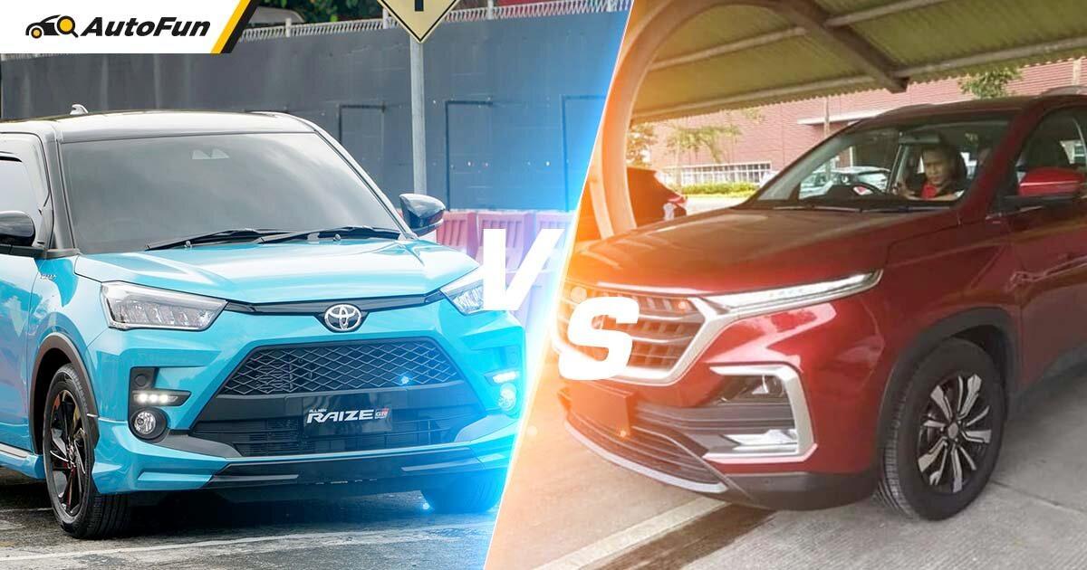 Komparasi Toyota Raize vs Wuling Almaz Bekas, Duo SUV yang Naik Daun di Harga Rp 200 Jutaan 01