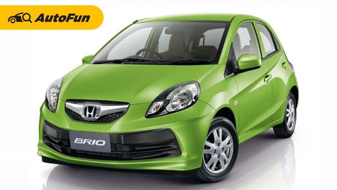 Modelnya Padahal Mirip, Ini Alasan Kenapa Harga Bekas Honda Brio 2012 Lebih Mahal dari Brio 2013 01