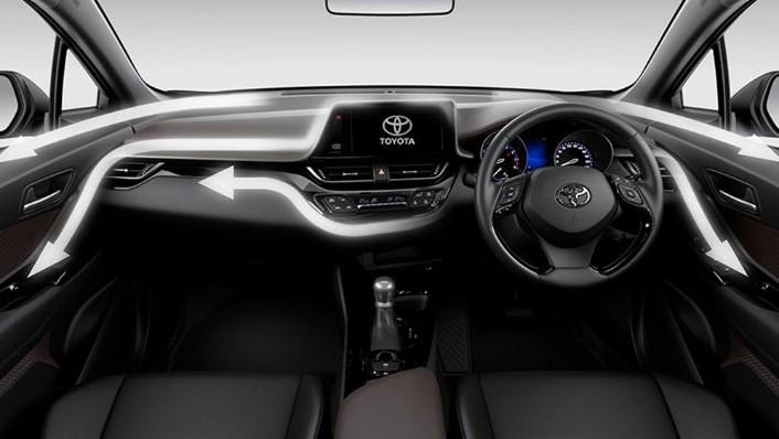 Toyota CHR 2019 Interior 001