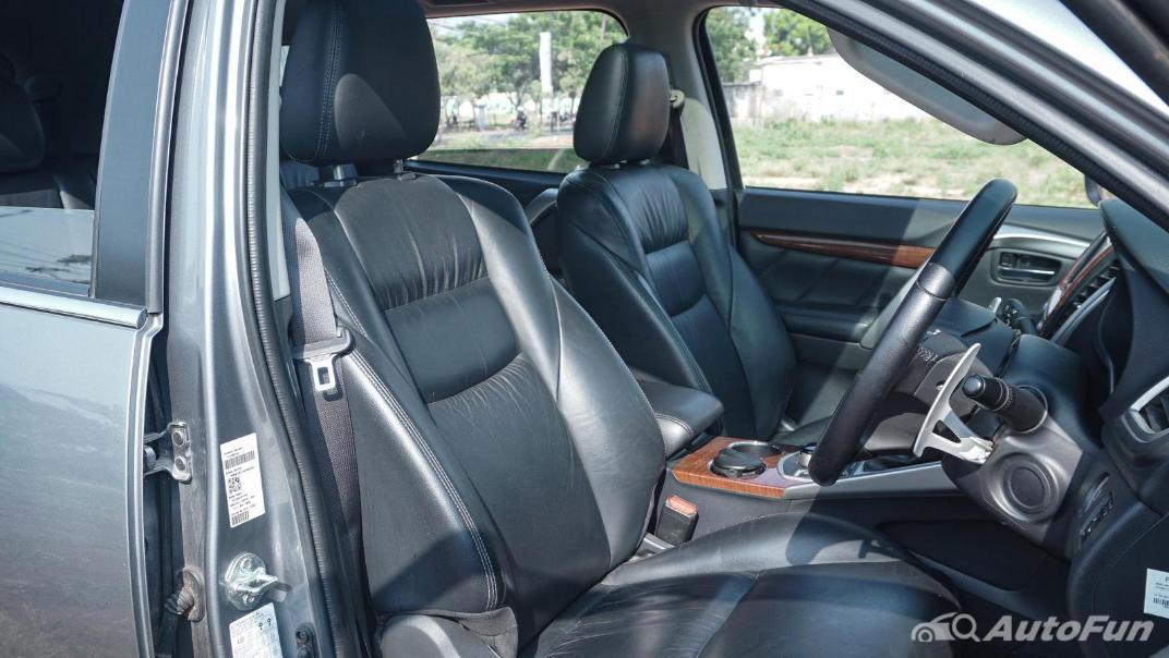 Mitsubishi Pajero Sport Dakar 4x4 AT Interior 048