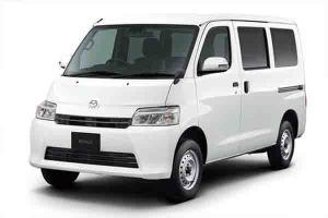 Bukan Daihatsu, Gran Max Berlogokan Mazda Tertangkap Kamera di Indonesia
