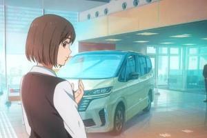 Nissan Serena 2022 Menampakkan Diri di Film Anime, Seperti Ini Bocoran Spesifikasinya