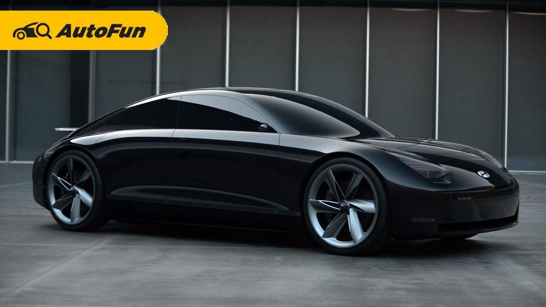 Ioniq 5 Laris, Hyundai Ioniq 6 Meluncur Tahun Depan Berwujud Sedan 01
