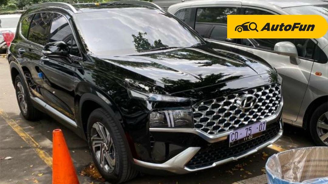 Bocoran Spesifikasi Hyundai Santa Fe 2021 Pakai Mesin Baru, Lebih Keren Dari Honda CR-V? 01