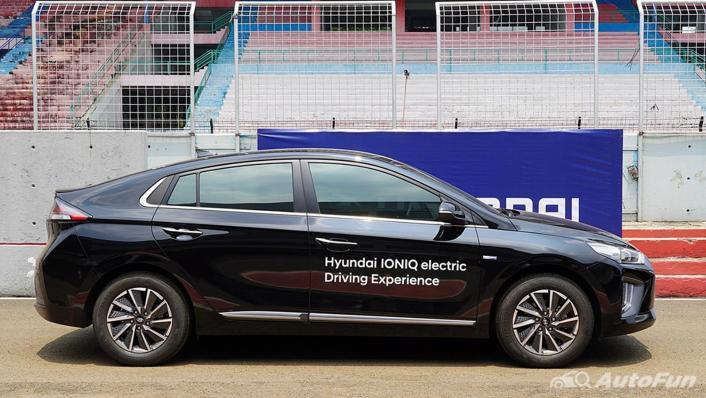 2021 Hyundai Ioniq Electric Exterior 003