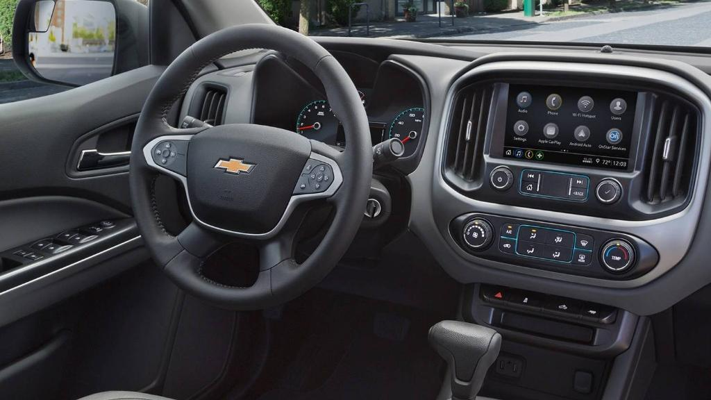 Chevrolet Colorado 2019 Interior 001