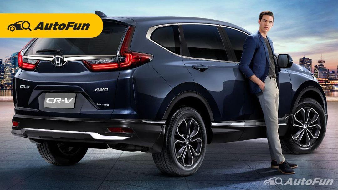Honda CRV 2021 tak hanya terlihat sporty, tapi juga elegan