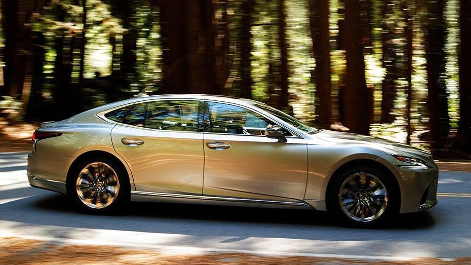 Lexus LS 2019 Exterior 005