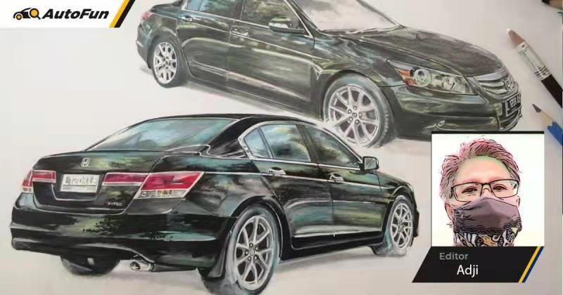 Sketsa Mobil: Wow,  Honda Accord yang ganti lingkar roda kok lebih keren dari aslinya? 01
