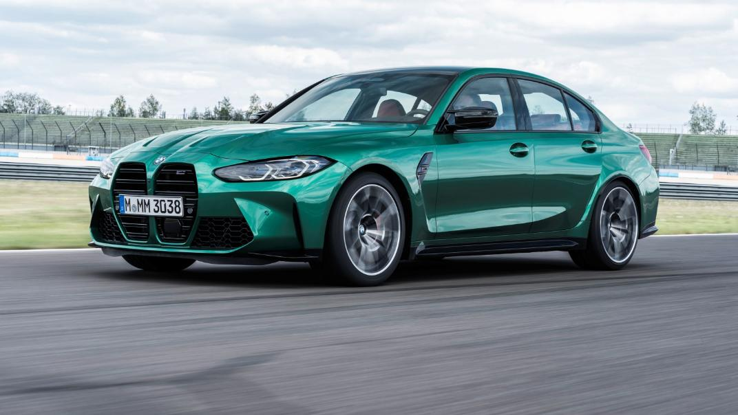 2021 BMW M3 Competition Exterior 011