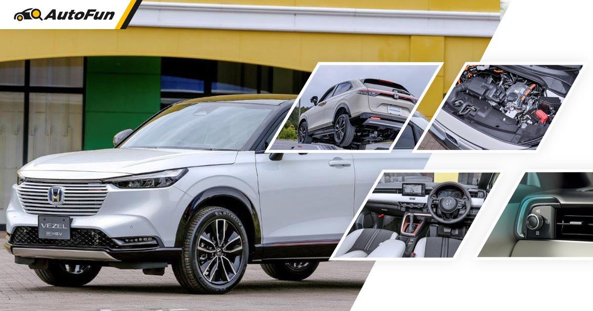Tanpa Mesin Turbo, Honda HR-V 2022 Mulai Dijual di Jepang, Harganya Lebih Murah Dari Perkiraan! 01