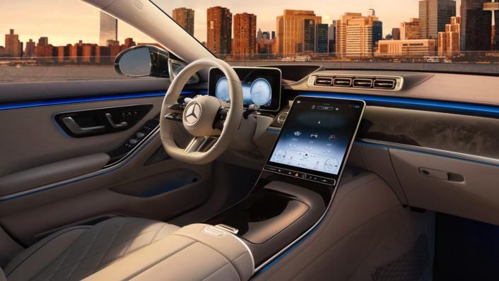 2021 Mercedes-Benz S-Class S 450 4MATIC Luxury Interior 010