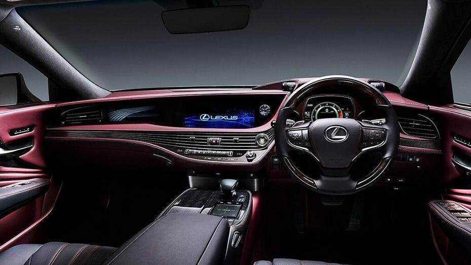 Lexus LS 2019 Interior 001