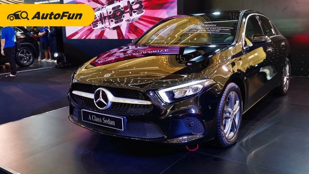 Dirakit Secara Lokal, Harga Mercedes-Benz A-Class Sedan Turun 10 Persen dan GLA 200 Nambah Fitur 01