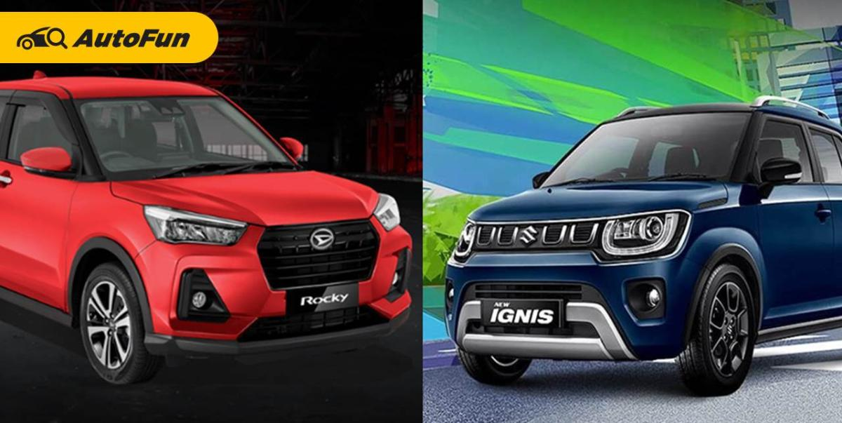 Daihatsu Rocky vs Suzuki Ignis: Profilnya Mirip Tapi Harga Beda Jauh, Pilih yang Mana? 01