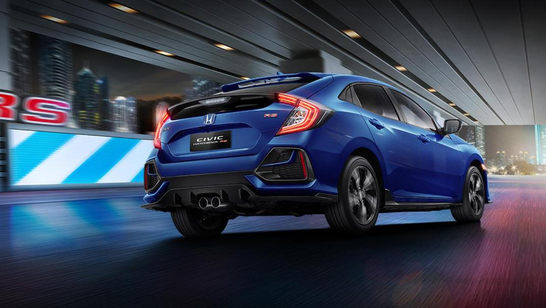 Honda Civic Hatchback 2019 Exterior 003