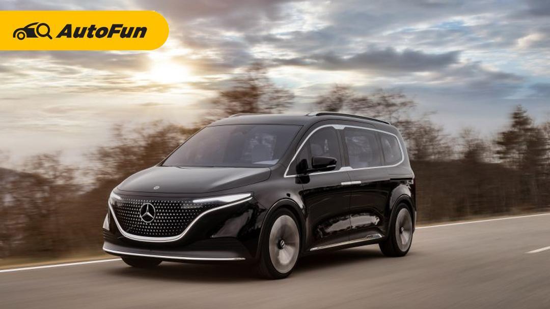 Mercedes-Benz Hadirkan Varian Elektrifikasi EQT Concept pada Keluarga T-Class Terbaru 01