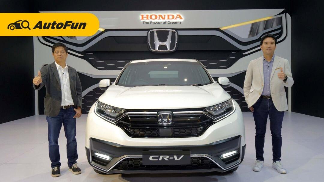 Berburu SUV Harga Rp500 Jutaan, Pilih Honda CR-V atau Mitsubishi Pajero Sport 2021? 01
