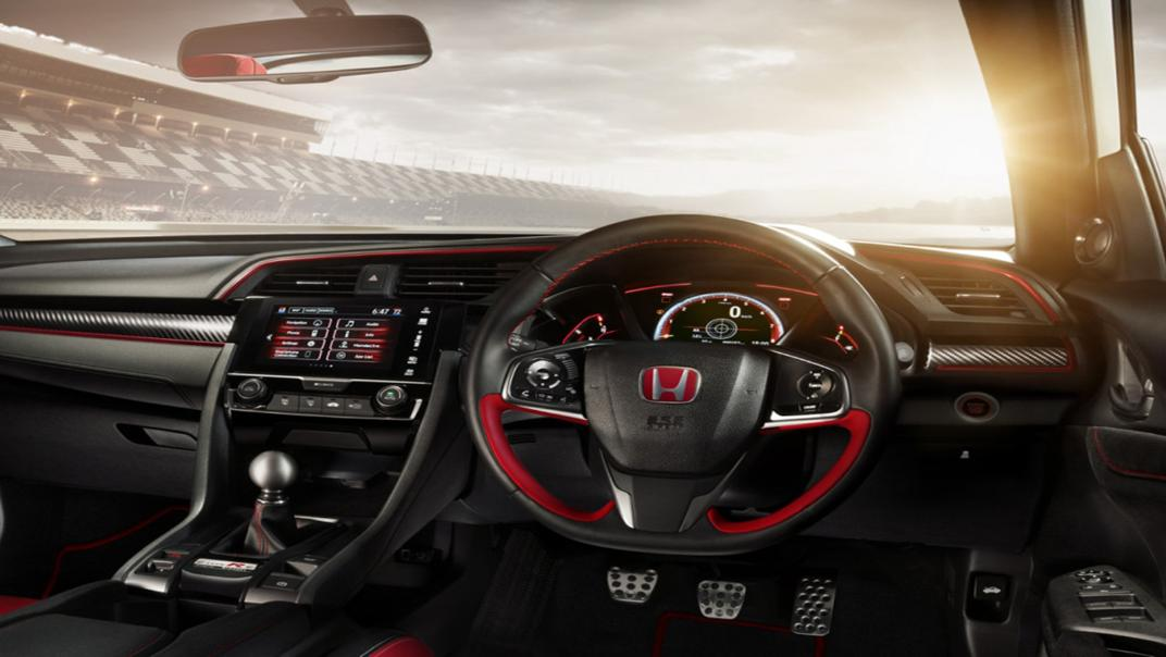 Honda Civic Type R 6-Speed MT Interior 001