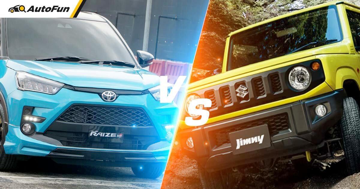 Menarik Untuk Diulas, Toyota Raize Vs Suzuki Jimny Mana yang Pantas Untuk Dimiliki Saat Ini? 01