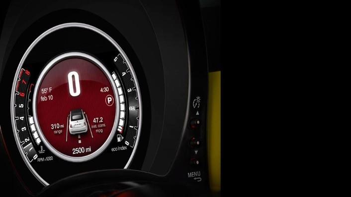 Fiat 500c 2019 Interior 009