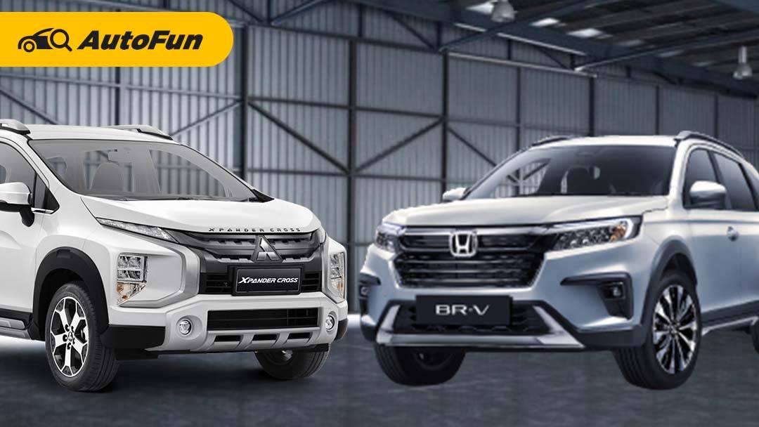 Komparasi All New Honda BR-V 2022 Vs Mitsubishi Xpander Cross, Mana yang Unggul dari Spesifikasi? 01