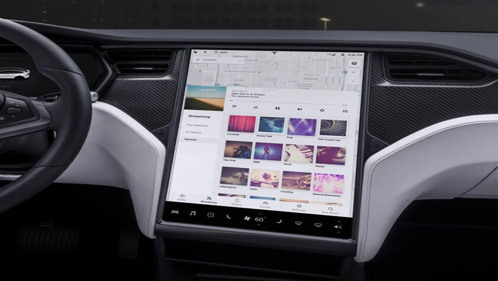 Tesla Model X 2019 Interior 006