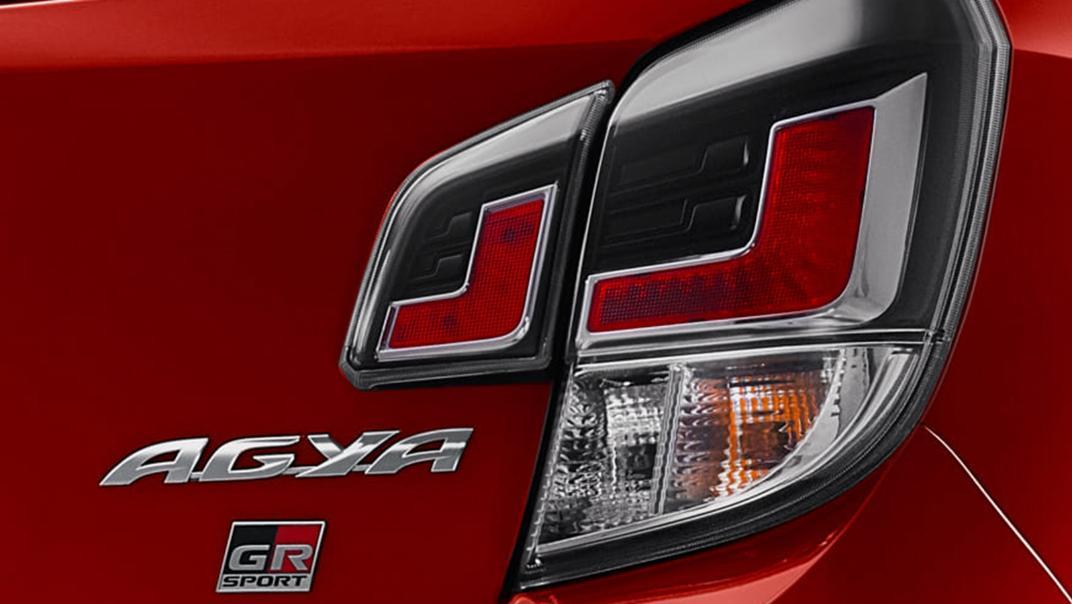 2021 Toyota Agya 1.2 GR Sport A/T Exterior 013