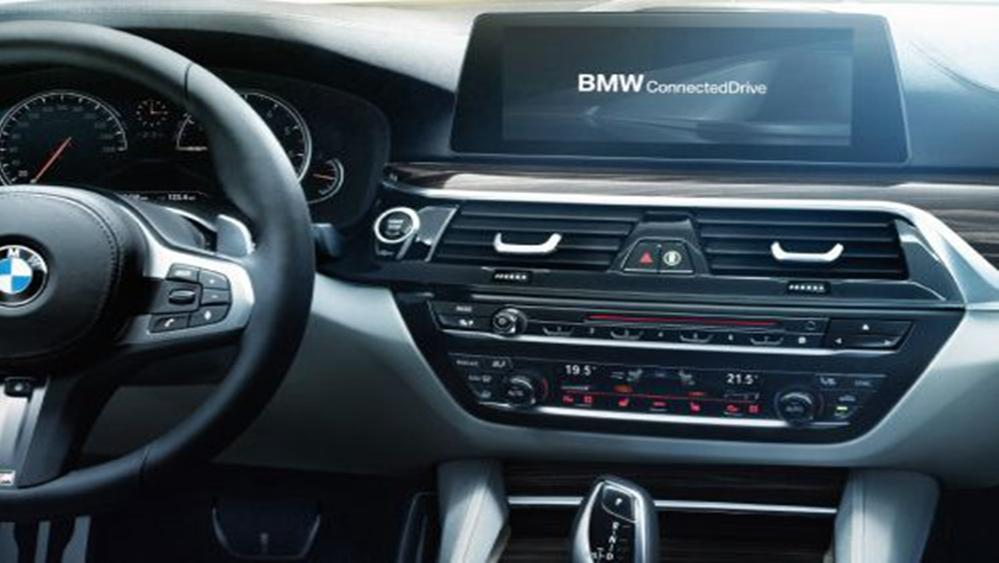 BMW 5 Series Sedan 2019 Interior 002