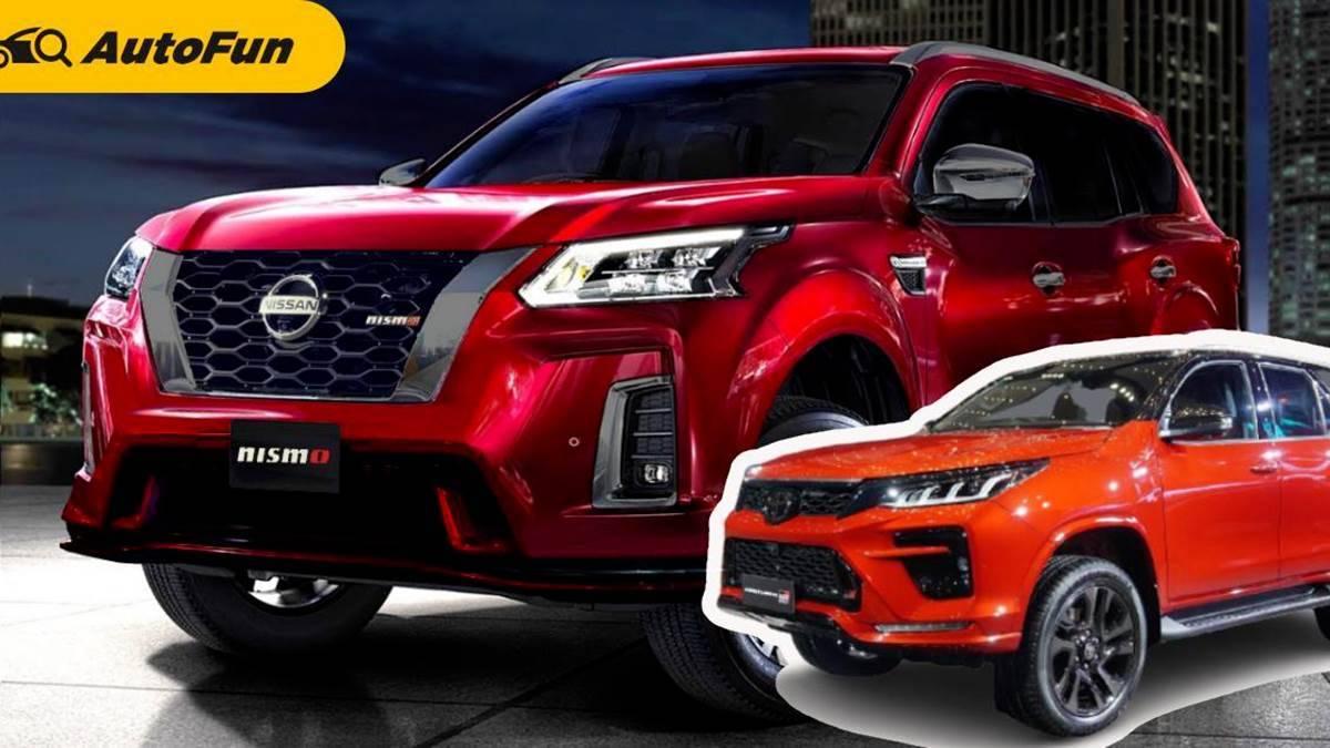 Nissan Terra Nismo 2022 Dijanjikan Lebih Sporty dari Fortuner GR Sport 01