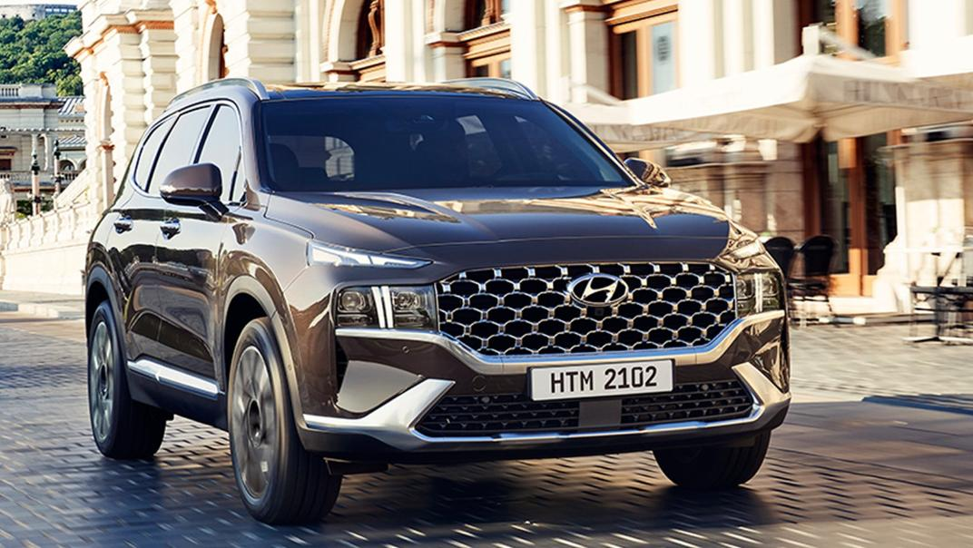 2021 Hyundai Santa Fe Exterior 009