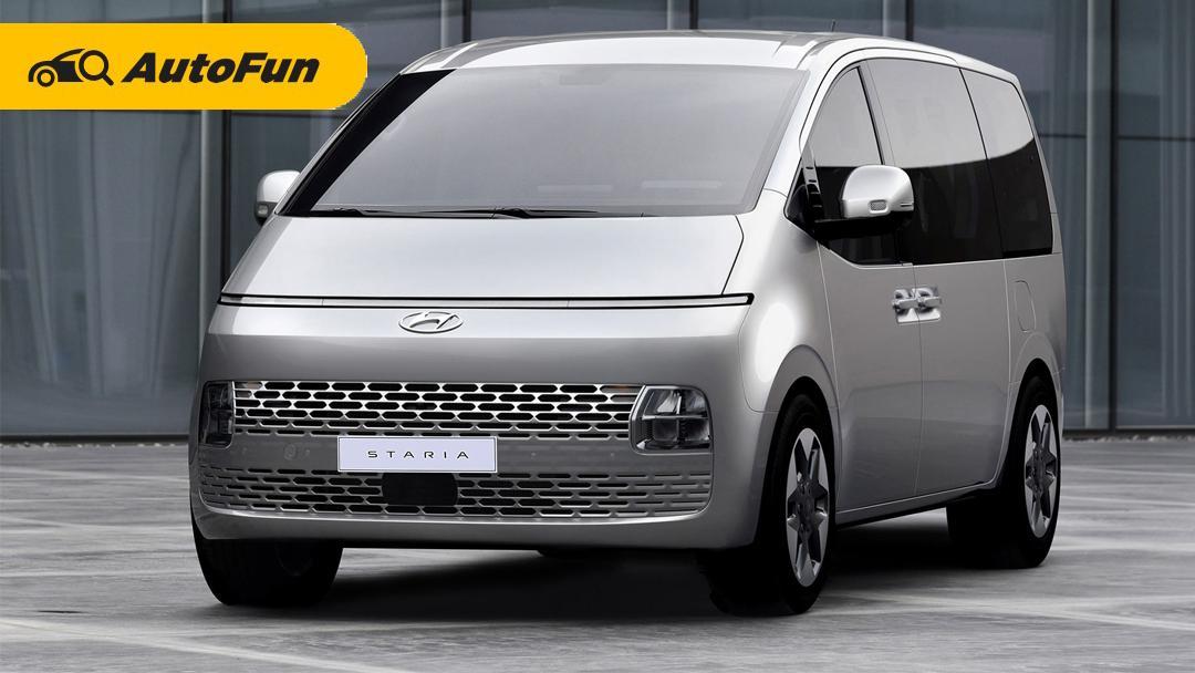 Hyundai Staria 2021 Segera Meluncur di Indonesia, Estimasi Harga Tembus Rp600 Jutaan 01