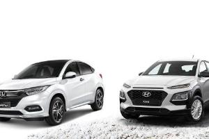 Honda HR-V dan Hyundai Kona, Siapa Yang Lebih Banyak Fiturnya?