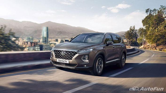 Hyundai Santa Fe 2019 Exterior 010