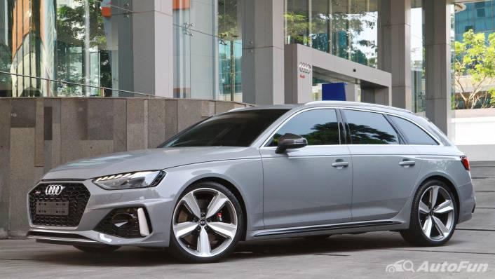 2021 Audi RS 4 Avant Exterior 008
