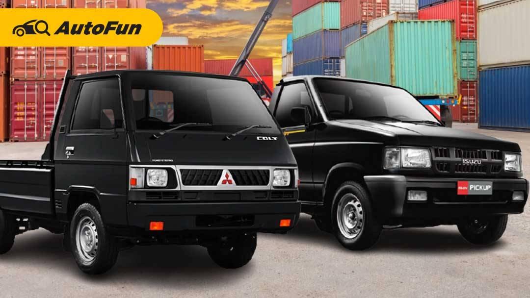 Mitsubishi L300 Vs Isuzu Panther, Mana yang Paling Cocok untuk Usaha Sehari-hari? 01