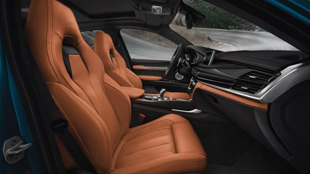 BMW X6 M 2019 Interior 006
