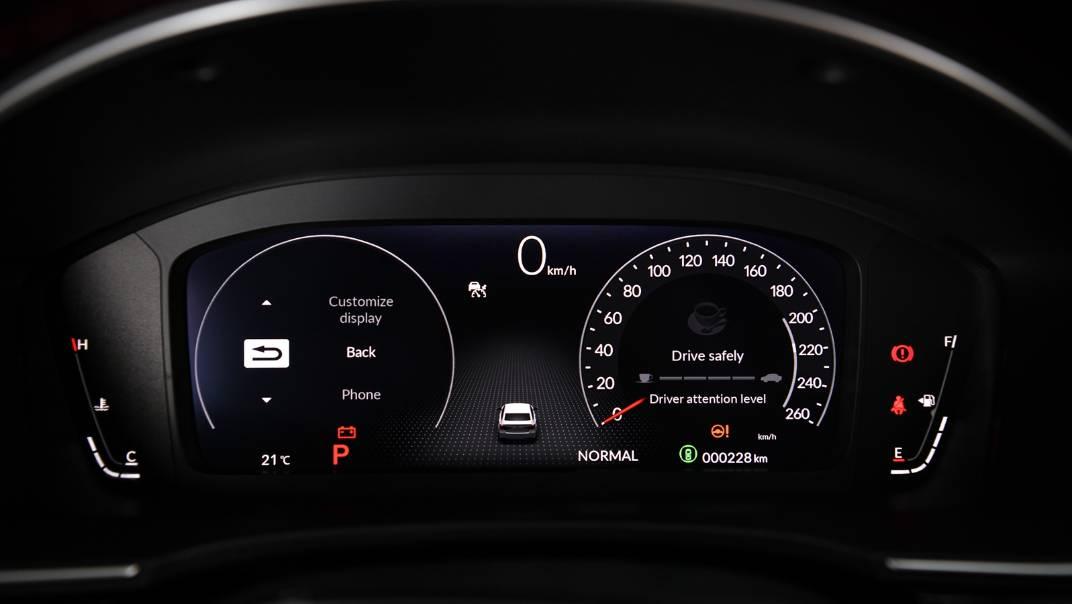 2022 Honda Civic Upcoming Version Interior 019
